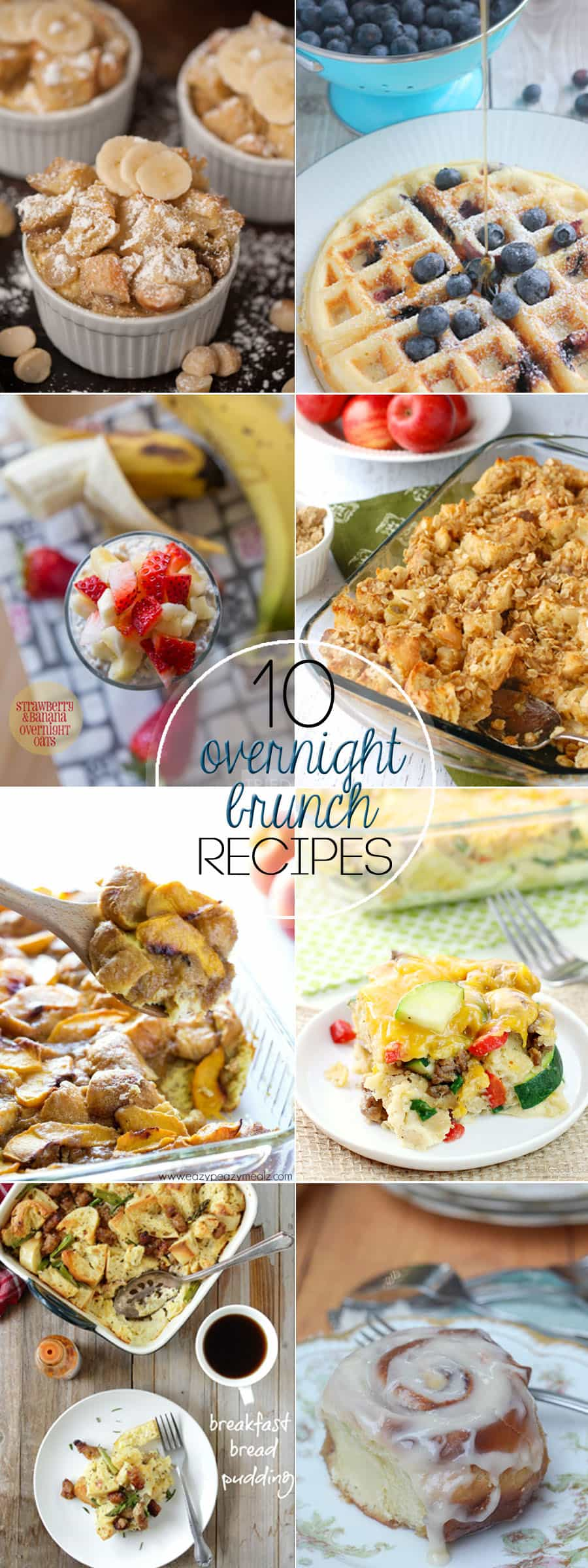 Whether you're looking forward to a special holiday breakfast or waking up to a delicious meal, your family will love these 10 Overnight Brunch Recipes.