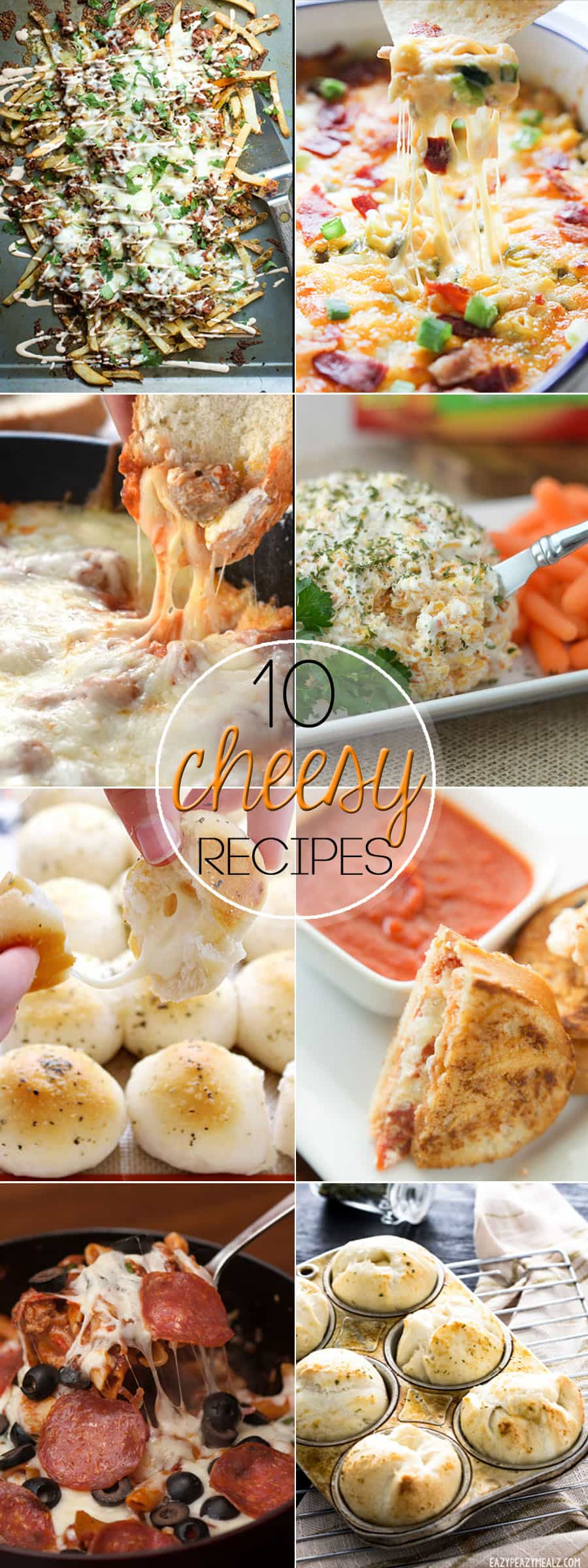 If you're like me and think cheese deserves its own food group, then you will love these 10 Recipes Where Cheese is the Star!