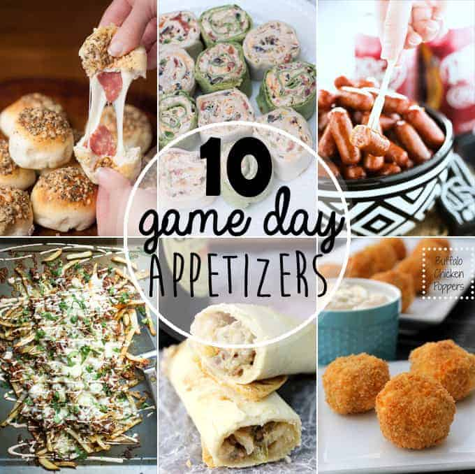 Superbowl Sunday is days away. Make the most of the game day fun by serving these 10 Best Game Day Appetizers that are sure to please a crowd.
