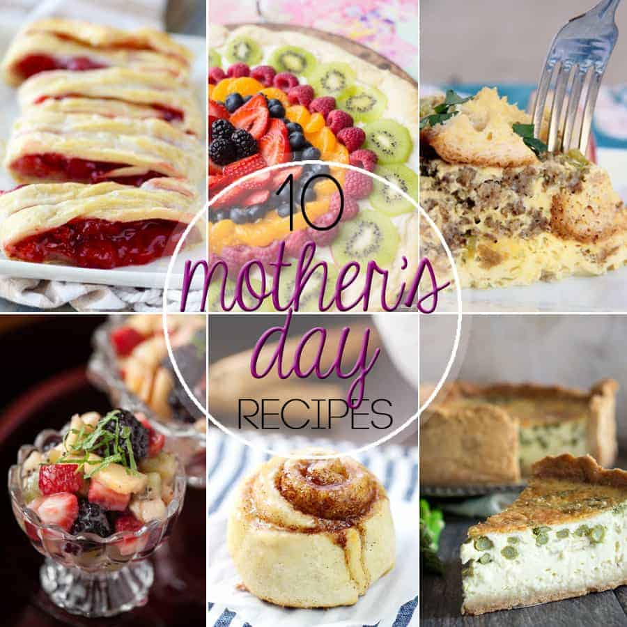 One day a year is devoted to celebrating the most important women in our lives, so why not show your appreciation with 10 Recipe's Perfect for Mother's Day?