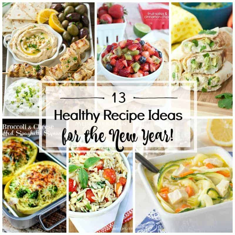 As we near the end of the holiday season full of treats, we could all use some Healthy Recipe Ideas to start the new year off right!