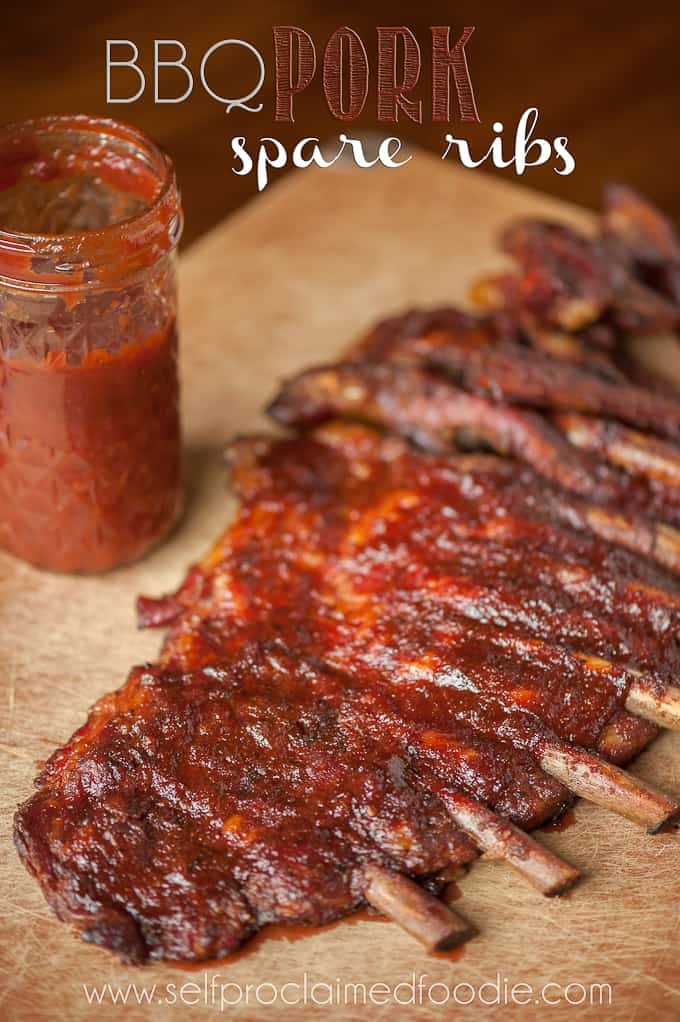 Bbq Pork Spare Ribs Recipe