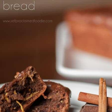 Mexican chocolate summer squash bread is a delicious dense moist sweet bread with the right amount of healthy that your entire family will love.