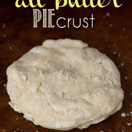 Not Your Mama's All Butter Pie Crust is a flaky and buttery homemade all butter pie crust is actually super easy to make. You'll never buy pre-made pie crust again after following this recipe.