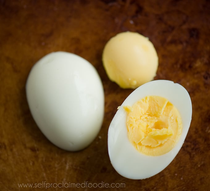 the perfect hard boiled egg white