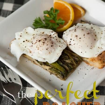 The perfect poached egg is a quick, easy and healthy method for making breakfast eggs.