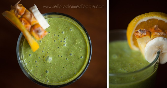 tropical-green-smoothie-duo