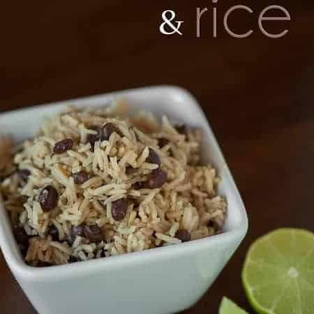 These Black Beans and Rice are super easy to make, taste fantastic, and are a great side dish to any Mexican main dish.