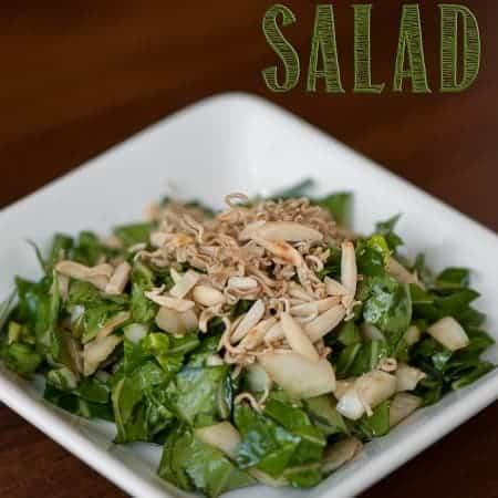 Bok Choy Salad | Self Proclaimed Foodie