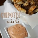 Chipotle Aioli is fast and easy to make. It is an excellent spicy and creamy spread for hamburgers or sandwiches. Dip fries and you'll be in food heaven.