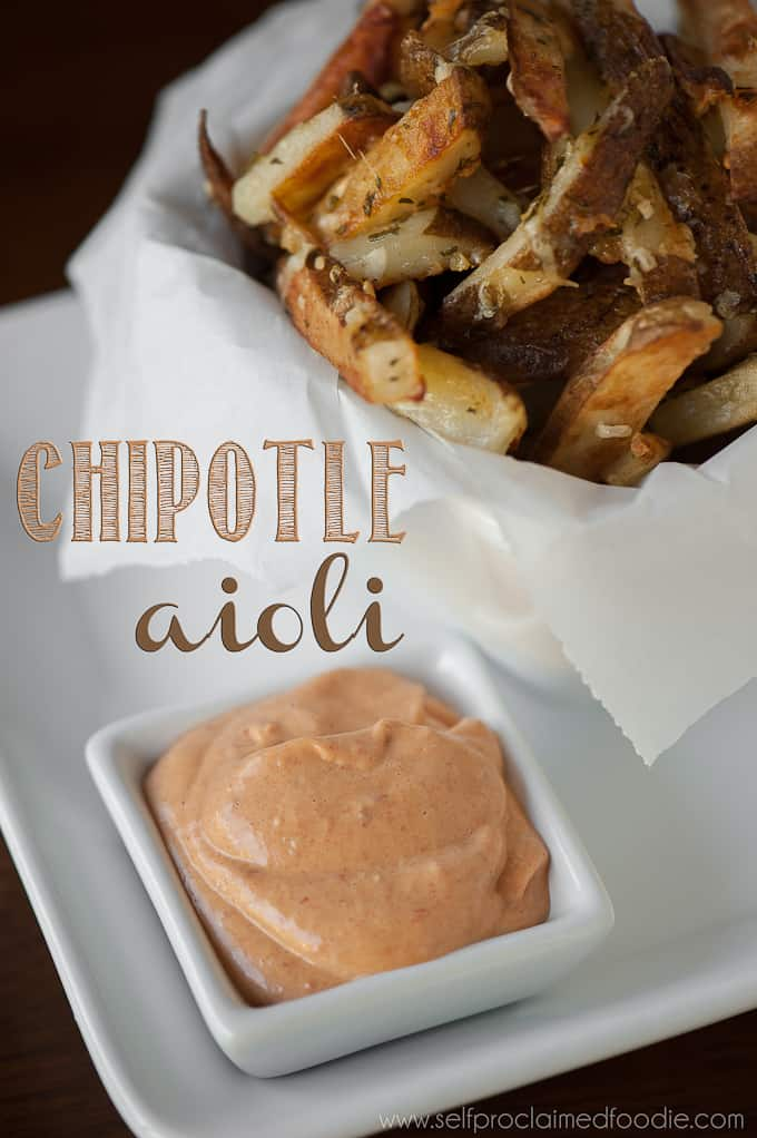Homemade Chipotle Aioli Recipe Self Proclaimed Foodie