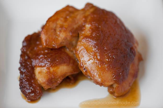 Fresh Apricot Glazed Chicken - Self Proclaimed Foodie