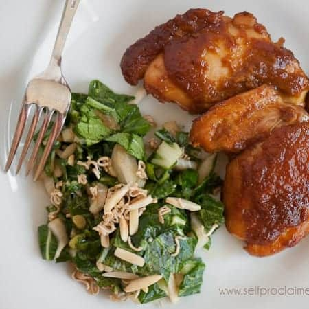 Fresh Apricot Glazed Chicken | Self Proclaimed Foodie