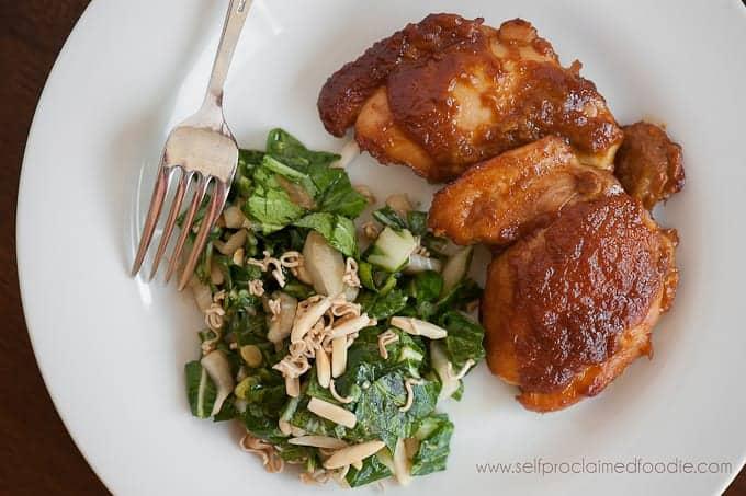 Fresh Apricot Glazed Chicken   Self Proclaimed Foodie