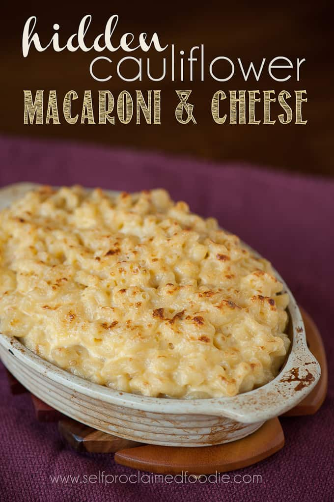 This Hidden Cauliflower Macaroni and Cheese is a great way to sneak in ...