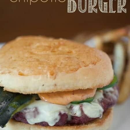 Poblano Jalapeno Chipotle Burger | Self Proclaimed Foodie