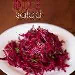 This Raw Citrus Beet Salad is a gorgeous, bright, incredibly easy to make super food side dish and will even have non-beet lovers asking for more.