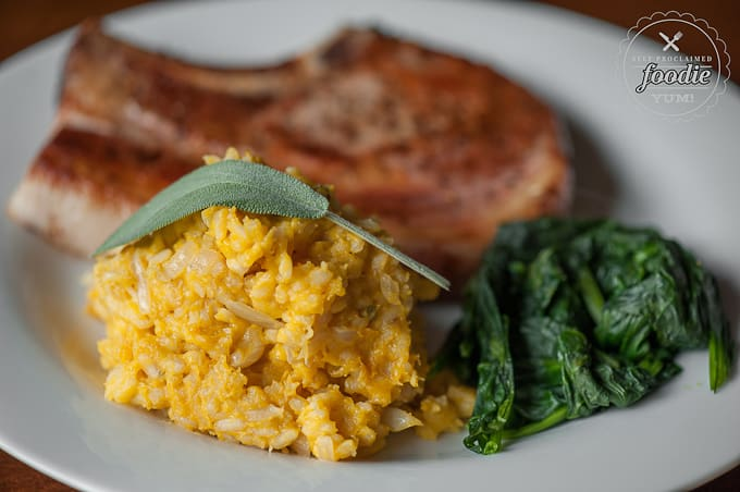 Buttercup Squash Risotto | Self Proclaimed Foodie