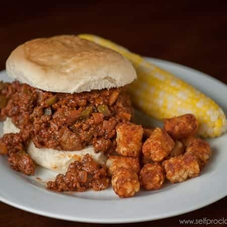 Easy Sloppy Joes | Self Proclaimed Foodie