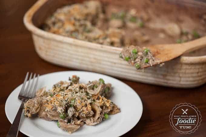 Gourmet Tuna Casserole | Self Proclaimed Foodie