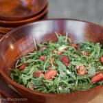 Strawberry Arugula Salad   Self Proclaimed Foodie