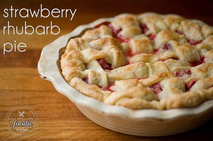 Strawberry-rhubarb Pie, Improved Recipe — Dishmaps