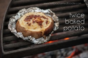 Twice Baked Potato | Self Proclaimed Foodie
