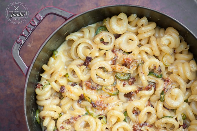 Bacon Jalapeño Mac n Cheese | Self Proclaimed Foodie