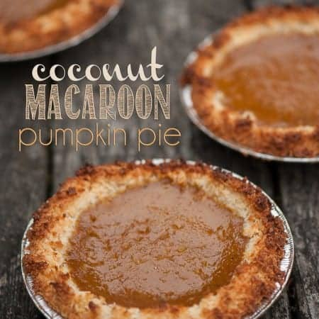 Take your pumpkin pie to a whole new level this holiday season. Surprise your guests with some delicious Coconut Macaroon Pumpkin Pie.