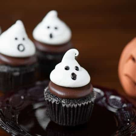 Ghost Meringue Cookies | Self Proclaimed Foodie