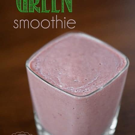 If you want your family to enjoy the wonderful benefits of green smoothies but they won't touch anything green, try this Not-so-green Green Smoothie.