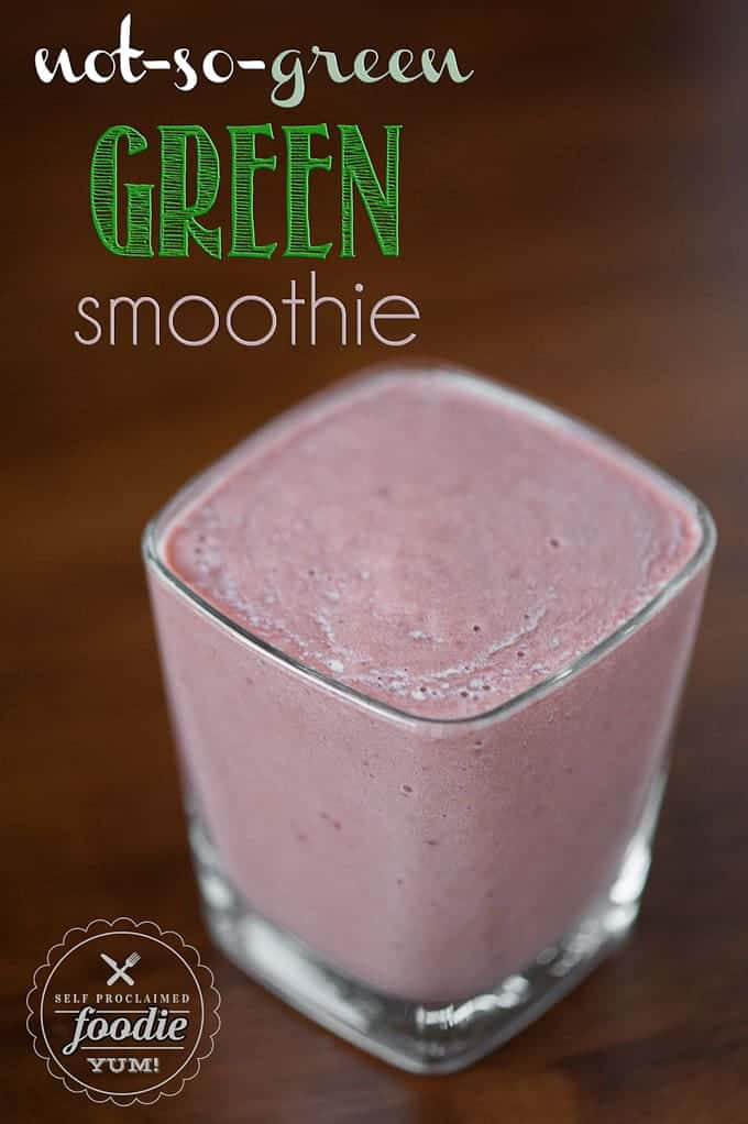 Not-so-green Green Smoothie | Self Proclaimed Foodie