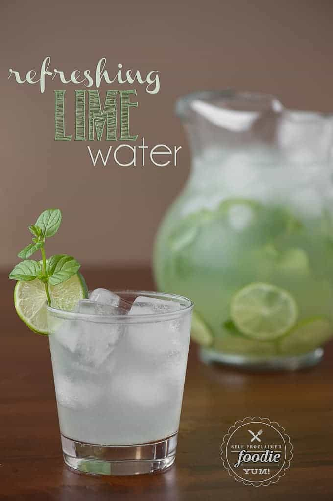 Refreshing Lime Water | Self Proclaimed Foodie