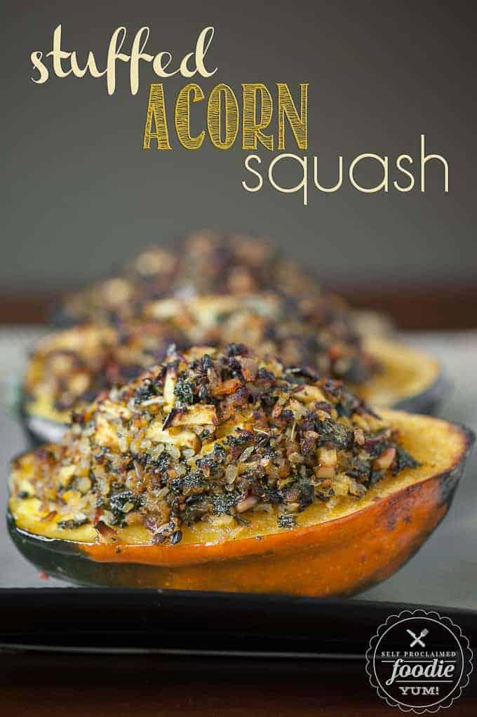 Stuffed Acorn Squash - Self Proclaimed Foodie