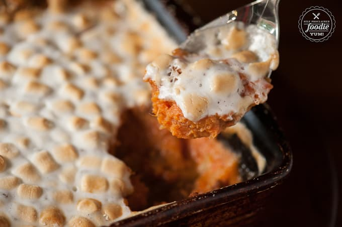 How to make Sweet Potato Casserole for Thanksgiving.