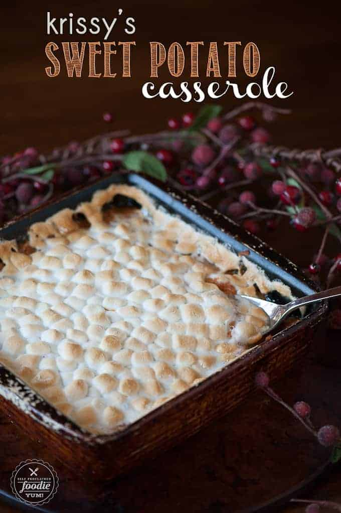 Krissy's Sweet Potato Casserole is one of my favorite traditional ...