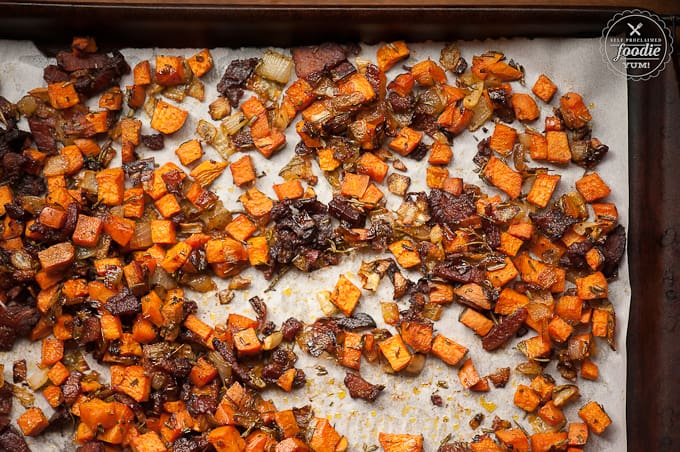 poached-eggs-sweet-potato-hash-pan