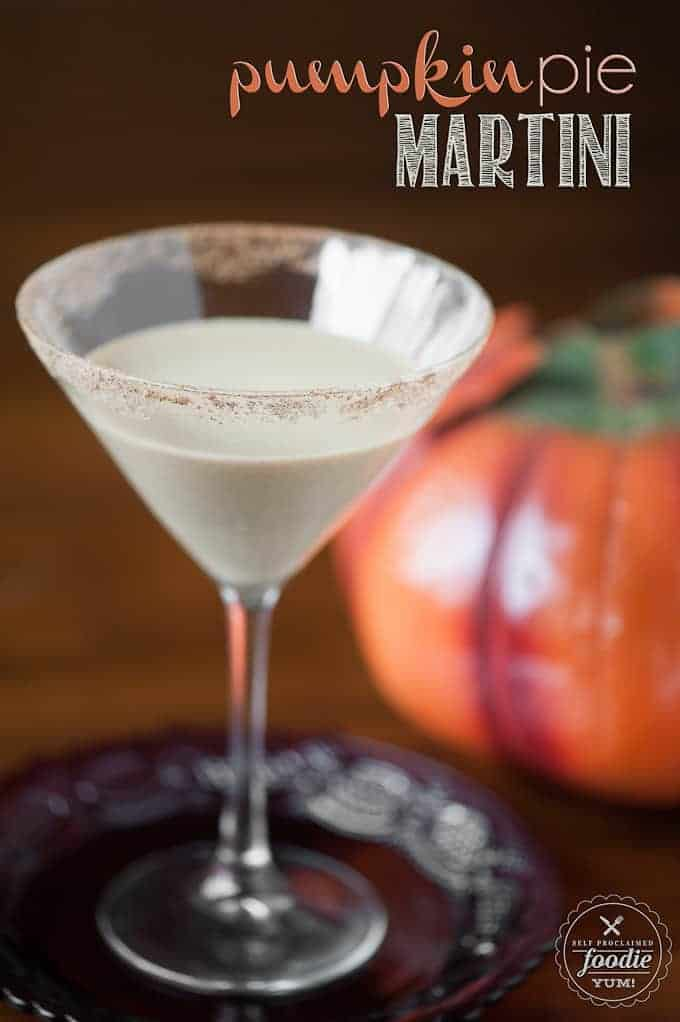 Pumpkin Pie Martini | Self Proclaimed Foodie
