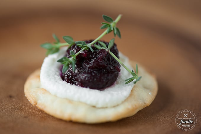 Roasted Beet and Chèvre Crisps   Self Pro
