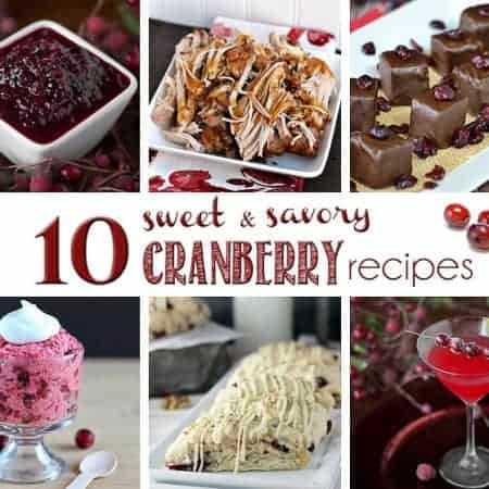 10 Sweet & Savory Cranberry Recipes | Self Proclaimed Foodie