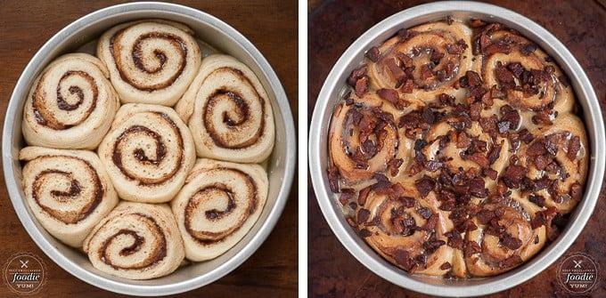 Maple Bacon Cinnamon Rolls | Self Proclaimed Foodie