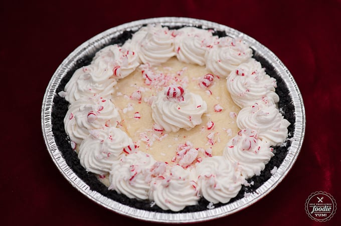Peppermint Chocolate Pie | Self Proclaimed Foodie