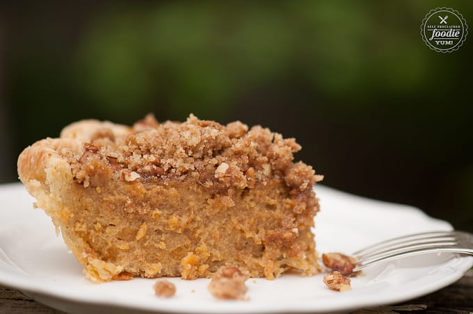 Spiced Rum Sweet Potato Pie | Self Proclaimed Foodie
