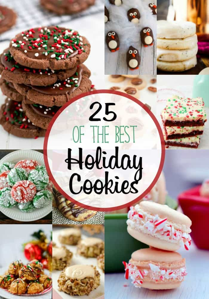 Not only am I sharing 25 of the BEST Holiday Cookie recipes, but we're giving away $400 cash to spend however you wish this holiday season!