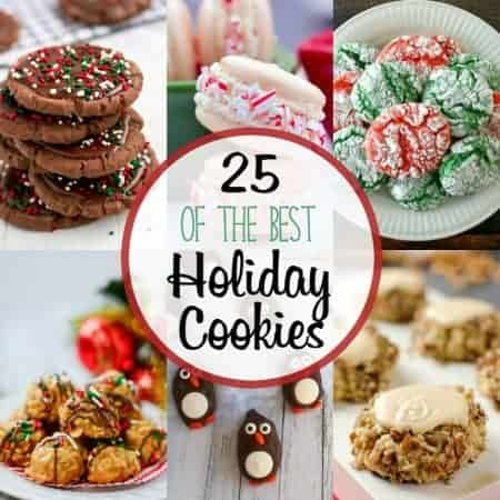 25 of the Best Holiday Cookies and a $400 Cash Giveaway!
