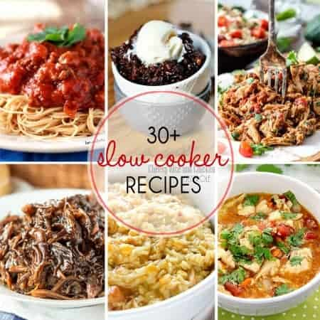 More Than 30 Slow Cooker Recipes