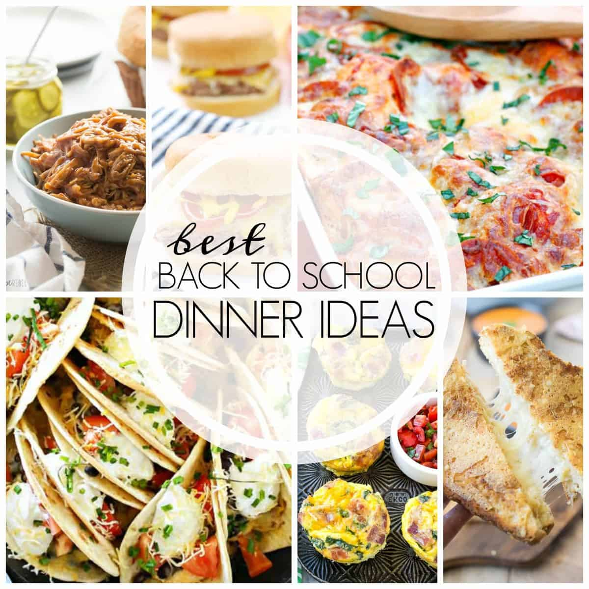 I'm sharing over 20 Easy Dinner Recipes that your family will love, especially during this busy time of year when school and sports dominate your schedule!