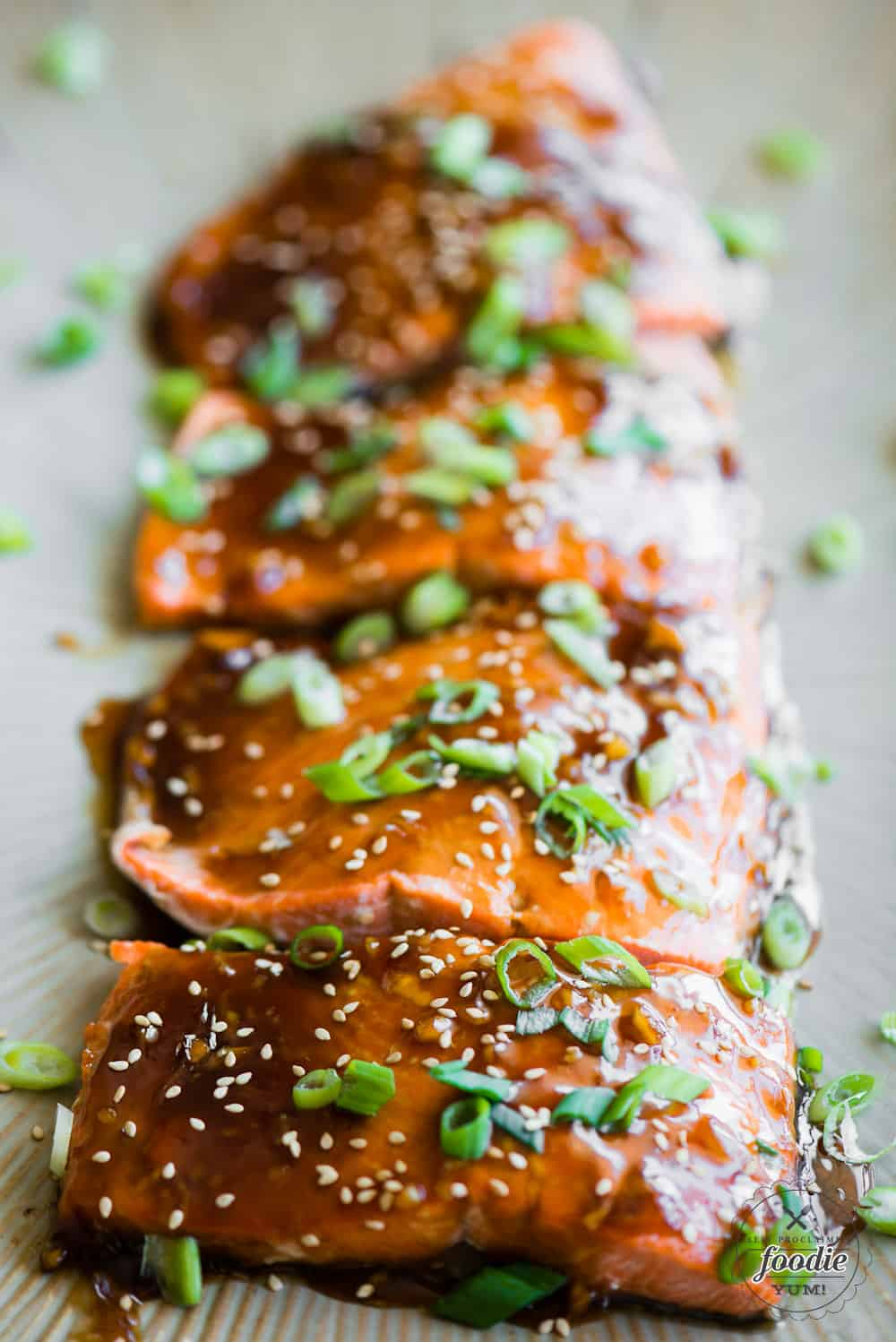 How to make oven Baked Teriyaki Salmon