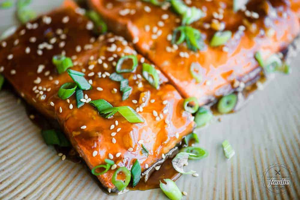 Baked Teriyaki Salmon No Marinating Recipe Self Proclaimed Foodie