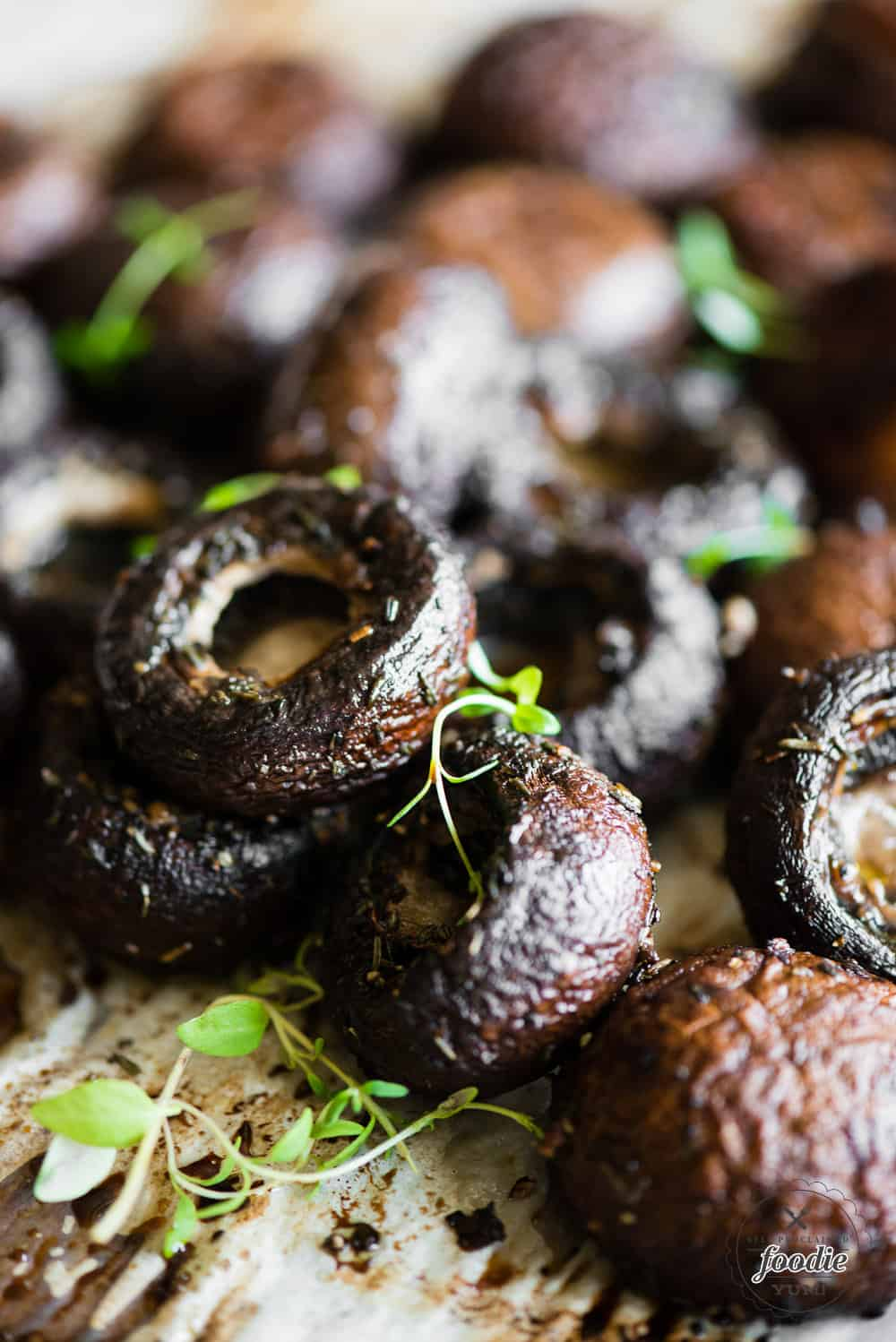 How to make Balsamic Roasted Mushrooms in oven